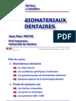 Biomateriaux dentaires