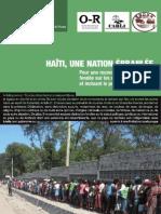 Haiti Une Nation Ebranlee