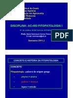 1ª AULA TEÓRICA - História e importância da Fitopatologia 2011.2 02-08-2011_ppt