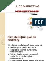 Planul de Marketing