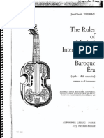 Interpretation Baroque Music