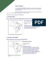 Nomenclatura Das Rodovias Federais