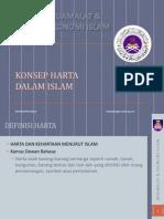 Mei - Konsep Harta Dalam Islam