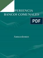 EL GÉNERO EN LOS BANCOS COMUNALES