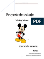 Proyecto. Mickey Mouse