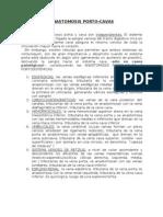 Anastomosis porto-cava
