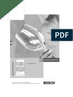 Manuel Lave-Vaisselle Bosch