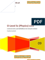 O level physics quick revision