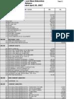 Excel Files > Trial Balance April, May, June 2007