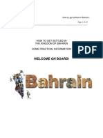 Brochure How to Settle in Bahrain