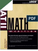SAT II Math