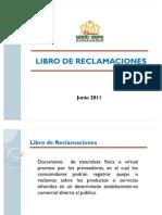 Libro de Reclamaciones - Presentacion