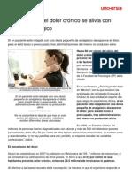 60 Dolor Cronico Alivia Trabajo Psicologico