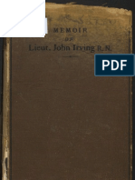 Memoir of Lieut John Irving