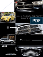 2012 MY Chrysler Fleet Buyer's Guide