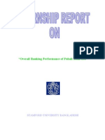 Pubali Bank Limited by Overall Banking Performance