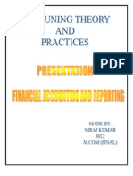 Accounting Theory and Practices