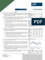 Essar Oil Q1FY12 Result Update_LKP