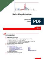Ball Mill Optimization