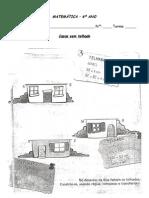 Mat 6º - Triãngulos Casas sem telhado