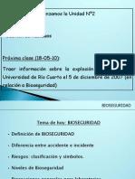 Bioseguridad 2010