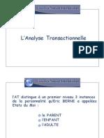 2 Analyse Transactionnelle