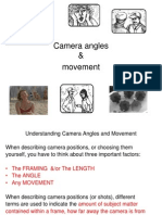Camera Angles, Movement & Framing