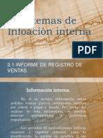 Sitemas de Infoaci+¦n interna EXPONER