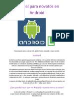 01. Manual Para Novatos en Android