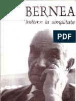 Ernest Bernea - Indemn la simplitate