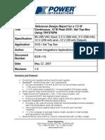 Rdr115 - Cross Regulation