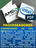 Historia dos Processadores