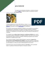 Definición de higiene industrial