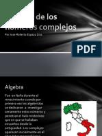 Historia de los números complejos