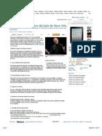 Decálogo del éxito de Steve Jobs