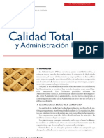 Calidad Totaql y Admin is Trac Ion Publica
