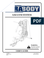 Parabody GS4 Manual