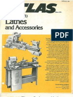 Atlas 12-36 Lathe Catalog