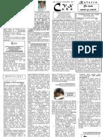 Boletín No. 29 CVX Cuba de Septiembre 2011