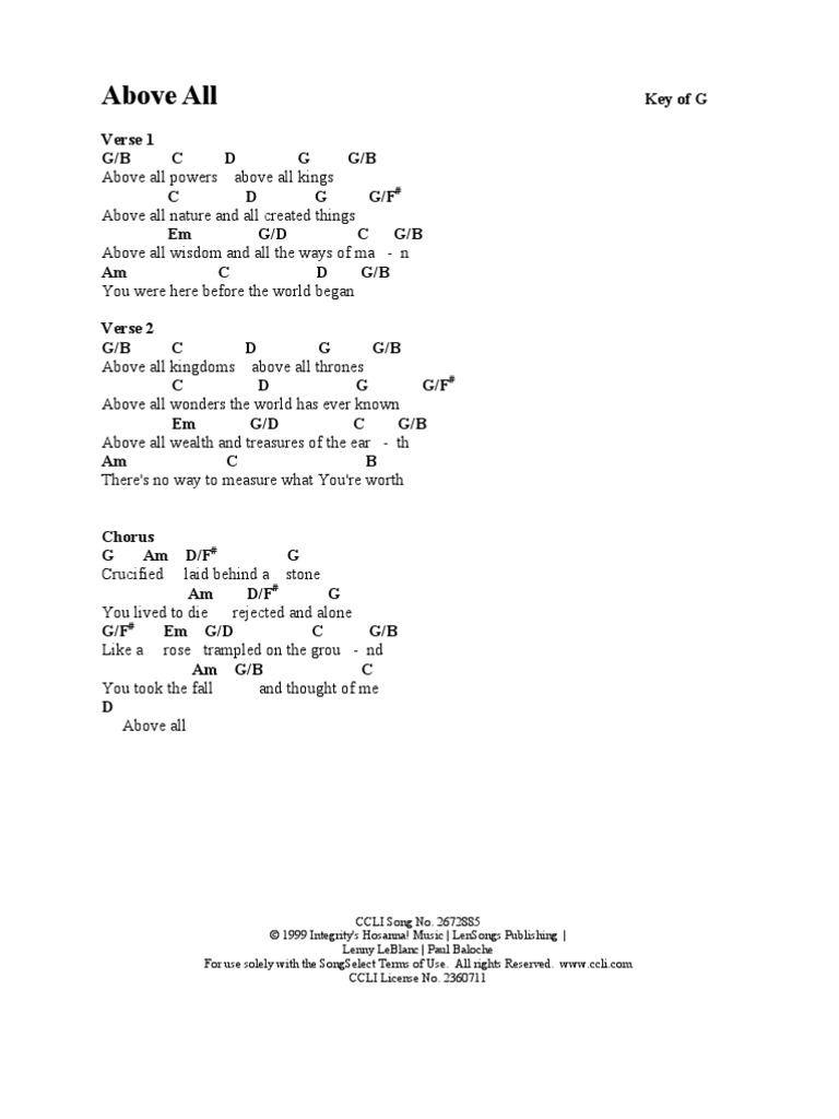 Songbook chords leisure religion and belief hexwebz Choice Image