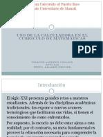 Info. de La Calculadora