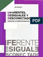 1.1. Diferentes Desiguales y Desconectados Mapas de La Intercultural Id Ad