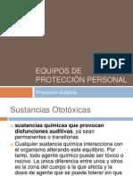 Equipos de Protección Personal Audio