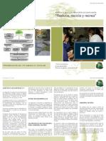 folleto presentacion