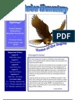 FHES August-September Newsletter 2011