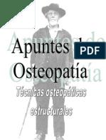 Técnicas osteopáticas estructurales