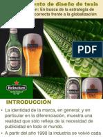 Modelo de diseño de tesis Heineken