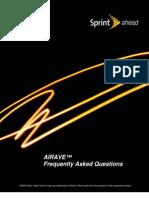 Airave by Sprint Faq