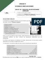 Selección de Lecturas Unidad 5 Mat-CIU -Ecuaciones