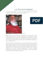Desumanisacion de  Paulo Freire